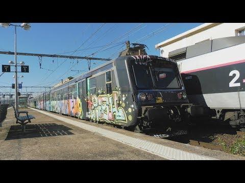 Gares d'Avignon TGV et d'Avignon Centre + gare de Gien (bonus)