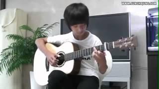 супер игра на гитаре