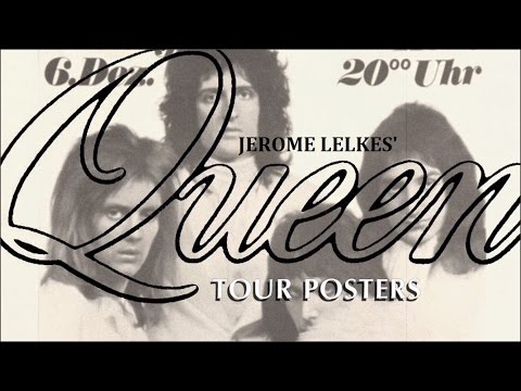 [363] Jerome Lelkes' Tour Posters (2017)