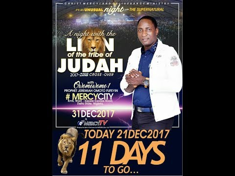 End of The Year CROSSOVER SERVICE (DECEMBER 31st - JANUARY 1st)a