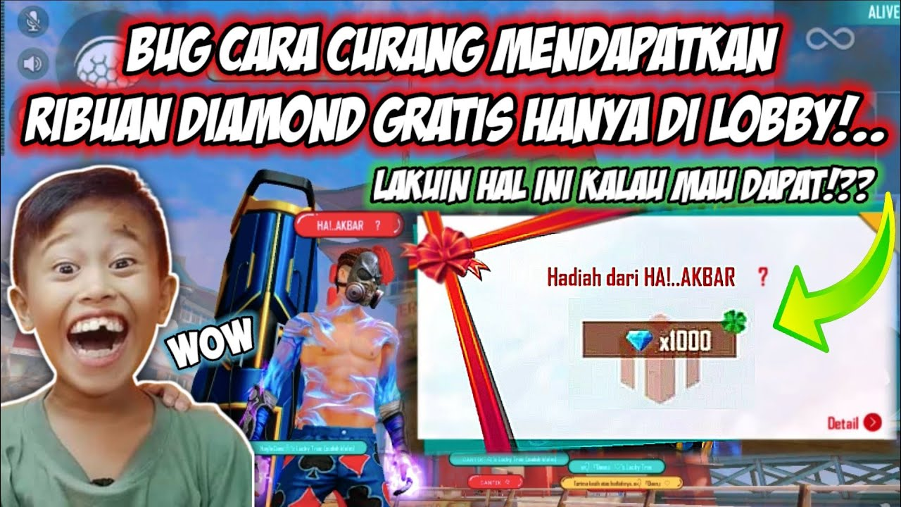 Download SULTAN LOBBY IS BACK! BUG CARA CURANG MENDAPATKAN DIAMOND GRATIS BERKALI KALI HANYA DI LOBBY DOANG!!