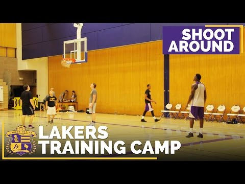 Lakers Training Camp Day 1: Shootaround (Raw Footage)
