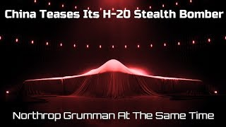 China Teases Its H-20 Stealth-Bomber and Trolls Northrop Grumman At The Same Time