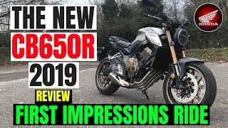 Honda CB650R | 2019 | REVIEW | First impression