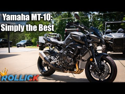 2019 Yamaha MT-10 Test Ride Review [Best Supernaked]