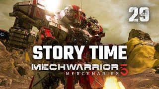 Campaign Story Time | Mechwarrior 5: Mercenaries | Full Campaign Playthrough | Episode #29