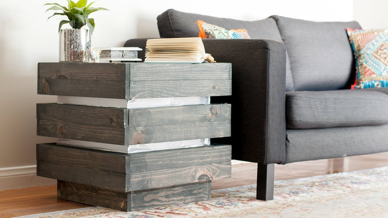 Diy End Table How To Build A West Elm