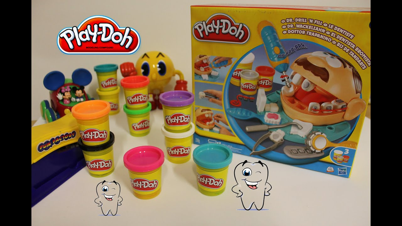 play doh dr drill n fill play doh dentista play doh. Black Bedroom Furniture Sets. Home Design Ideas