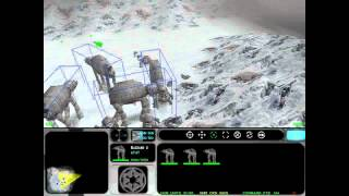 Star Wars: Force Commander - Mission 6 (Part 1 of 2) Cold Vengence