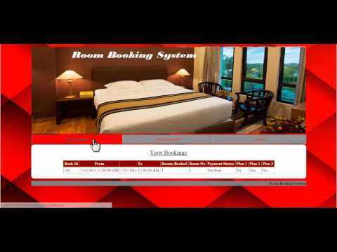 Advanced Room Booking System Project