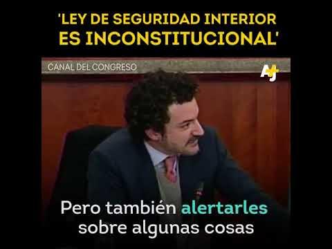 Ley de Seguridad Interior Congreso de la UNIÓN, traidores a México..
