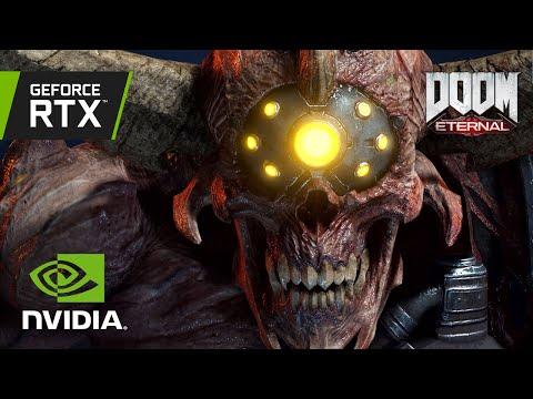 DOOM Eternal | Official GeForce RTX 3080 4K Gameplay - World Premiere