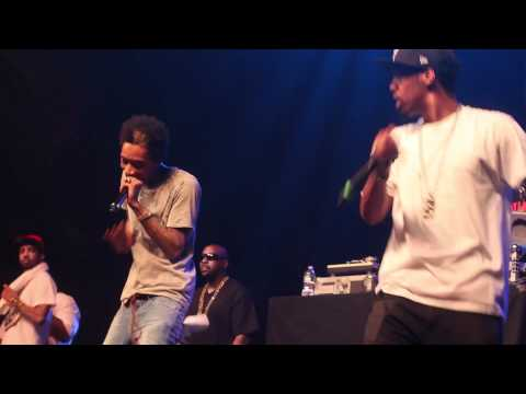 Wiz Khalifa - When I'm Gone, The Race(LIVE)