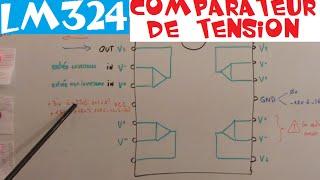 TRONIK AVENTUR N°108 - LM324 AOP en COMPARATEUR DE TENSION AOP