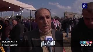تشييع جثمان شهيد المخابرات في إربد - (21-2-2019)
