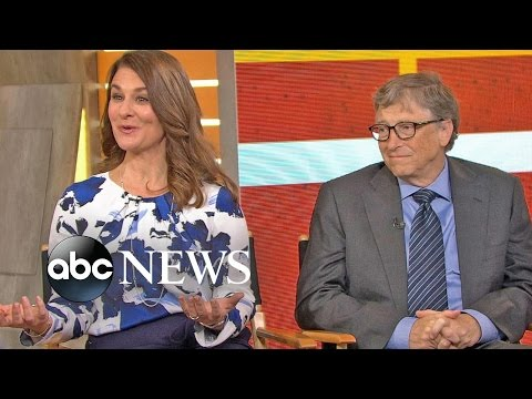 Bill and Melinda Gates Urge Teens to 'Get Involved'