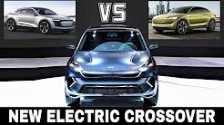 Kia Niro EV vs Audi Etron Sportback vs Skoda E - 2018 Upcoming Electric Crossovers
