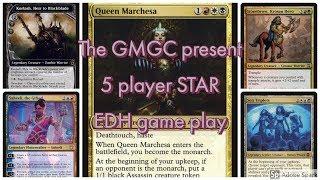 5 player STAR  game play Stonebrow vs  Sen Triplets vs  Saheeli vs  Korlash vs  Queen Marchesa