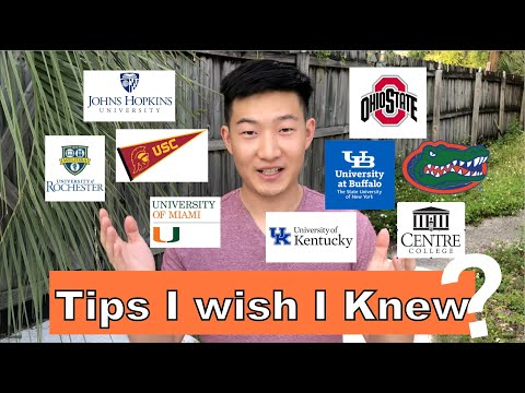How I Got into University of Florida|Tips I Wish I Knew Before Applying to College