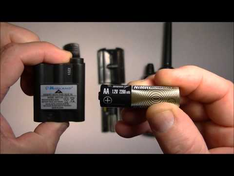 Midland GXT 1000. How To Increase Battery Life Significantly.