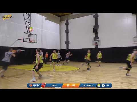 OPS35 - ЛОТОС (2). Летняя лига. Дивизион В. Тур 5. Сезон 2020