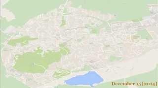 Google Map Maker - Truskavets Time Lapse [2014]