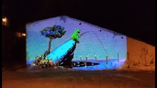 Videomapping mural Camprovin01