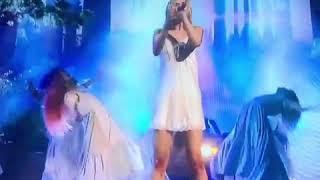 Selena Gomez Lip syncs At The Amas