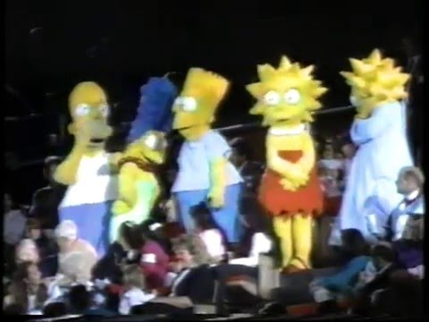 The Simpsons At The Ice Capades
