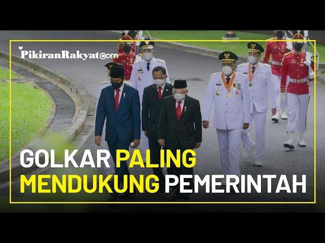 Berdasarkan Survei, Golkar Dianggap sebagai Partai yang Paling Mendukung Pemerintah Jokowi-Ma'ruf