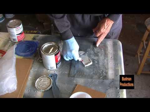 Mixing and Applying Body Filler - Bondo