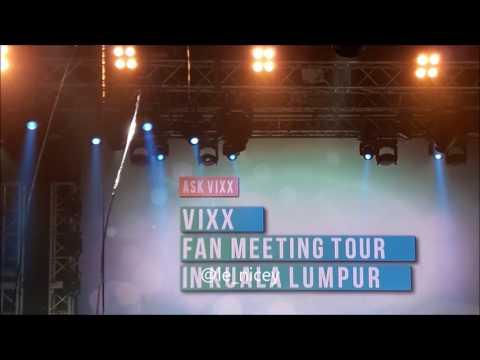 170727 Hyuk Post-It Q&A Cut - VIXX Kuala Lumpur Fanmeeting