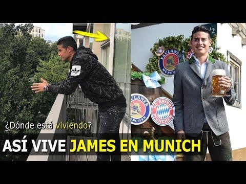 ASÍ VIVE JAMES RODRÍGUEZ EN MUNICH, ¿CON QUIÉN VIVE?, MIRA LO QUE HACE EN SU CASA