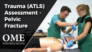 Initial Assessment of a Trauma Patient - Pelvic Fracture Scenario.wmv