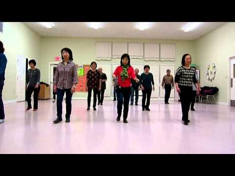 Electric Slide  ~ Line Dance (Dance & Walk thru)