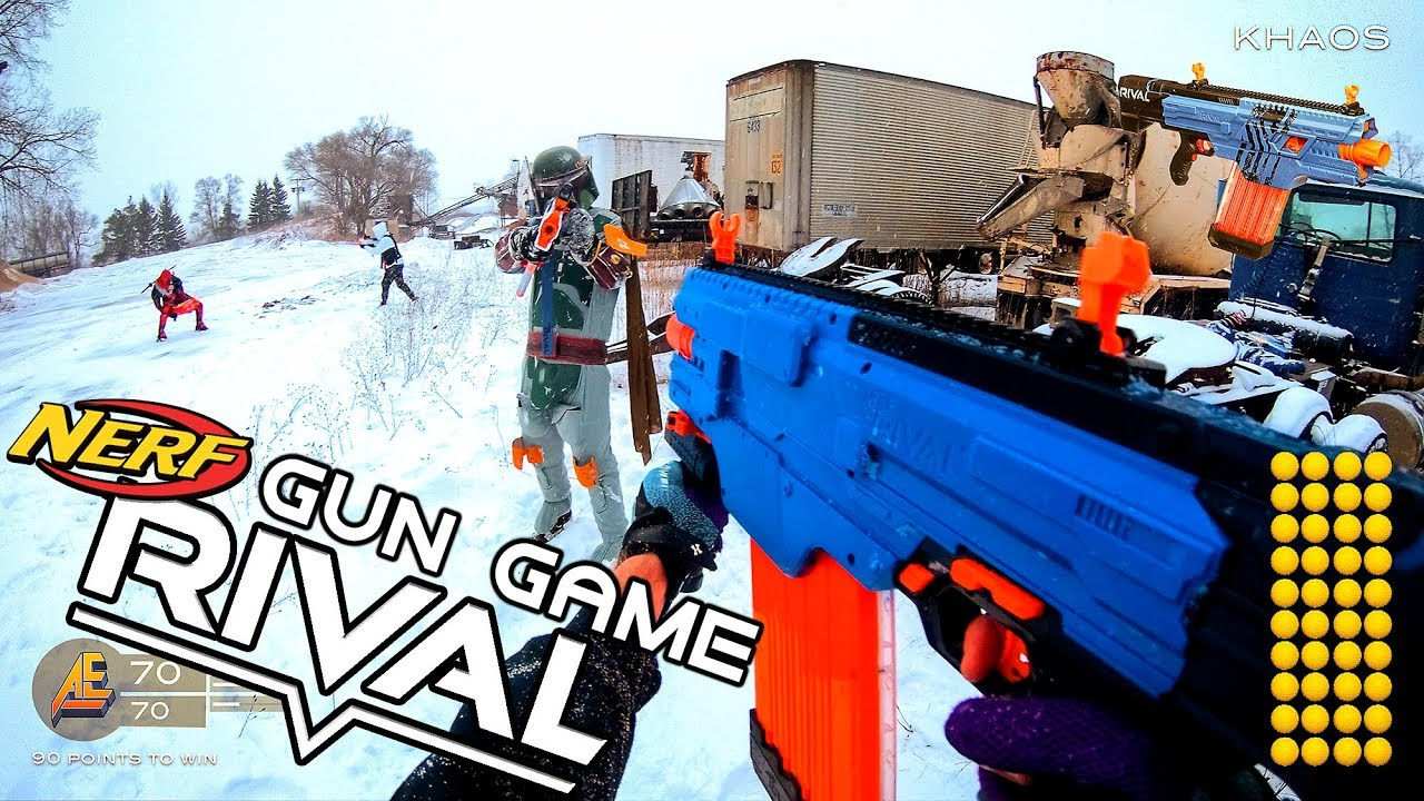[RIVAL] Call of (NERF) Duty - First-person action!