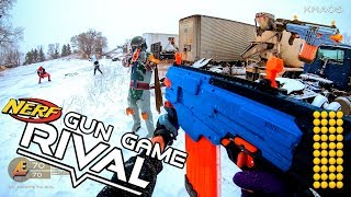 NERF GUN GAME | RIVAL EDITION! First Person Shooter in 4k!