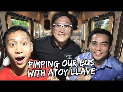 Pimping Out Our New Van Bus (ft. Atoy Llave) | Vlog #638 thumbnail