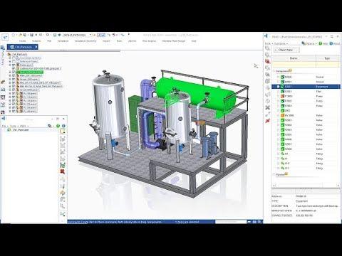 P Id Design In Solid Edge L Plant Design Software Youtube