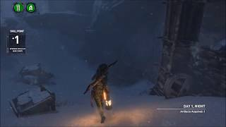 Rise of the Tomb Raider. The Crypts, Part 1.