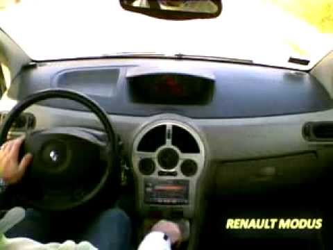 renault modus carpc youtube. Black Bedroom Furniture Sets. Home Design Ideas