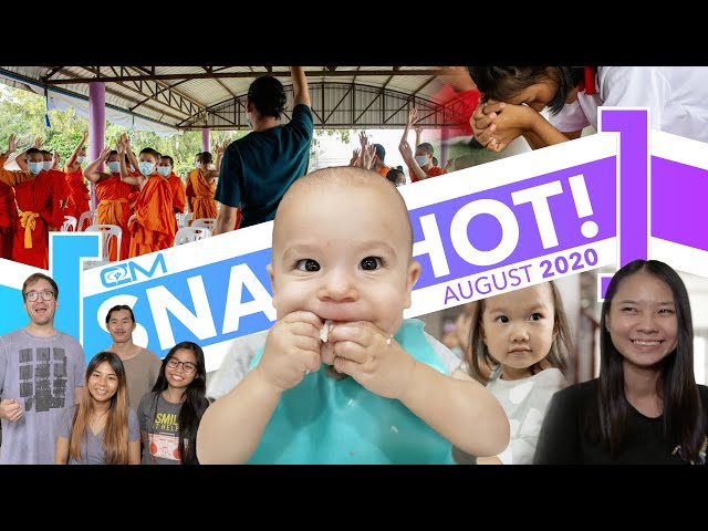 Snapshot / August 2020 / Prep for 20 new Thai students, sharing in monk school, Thai Mothers Day