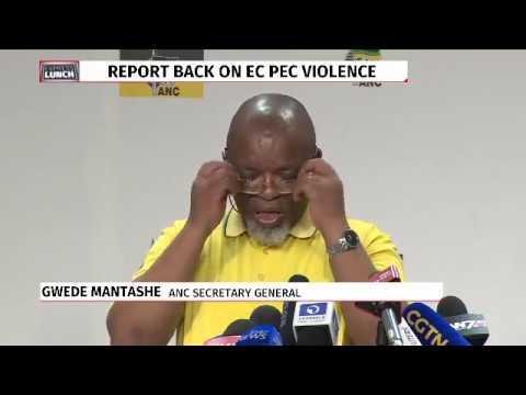 ANC briefs media on NEC outcomes
