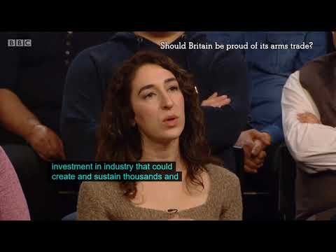 The Big Questions: The arms trade is fuelling war and conflict around the world, clip 3