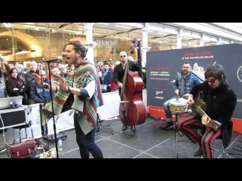 Rival Sons - Keep On Swinging - The Station Sessions, St. Pancras International, London