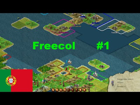 Freecol (Pt/br) #1 - Vamos colonizar o caribe!