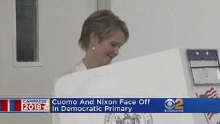 New Yorkers Turn Out To Cast Their Voters