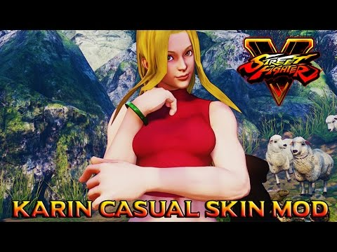 Street Fighter V Karin Casual Skin Mod - PakVim net HD
