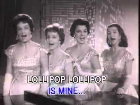 The Chordettes - Lollipop (Original Video)