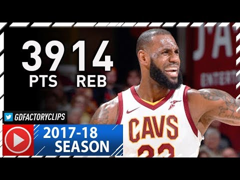 LeBron James CRAZY Full Highlights vs pers 2017.11.17  39 Pts, 14 Reb, MVP MODE!